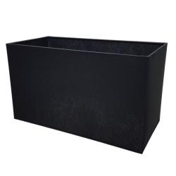 Czarny abażur 30x15 prostokąt lampa stołowa/stojąca modern classic
