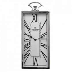 Elegancki zegar ścienny glamour