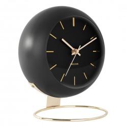 Luksusowy zegar stojący czarny-złoty
