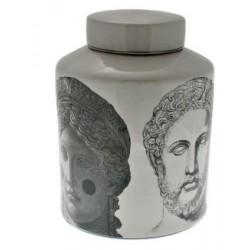 Luksusowa waza dekoracyjna ceramiczna porcelanowa