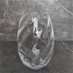 Duży wysoki wazon szklany nowoczesny