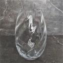 Nowoczesny wazon szklany-kryształowy połysk h26