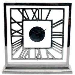 Elegancki zegar stołowy glamour