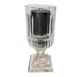 Luksusowy szklany kryształowy lampion glamour