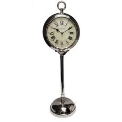 Elegancki wysoki zegar podłogowy Glamour-Hamptons