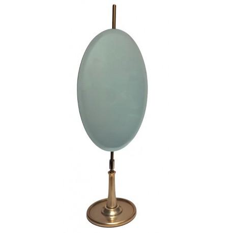 Złote lusterko kosmetyczne mosiężne