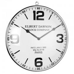 Nowoczesny zegar na ścianę dworcowy