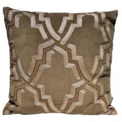 Luksusowa wyszywana poduszka- koraliki Hamton