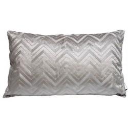 Luksusowa wyszywana poduszka aksamitna 50x50