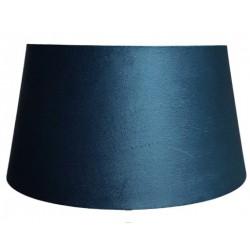Welurowy abażur niebieski do lampy podłogowej