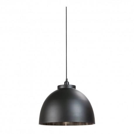 Czarna skadynawska lampa wisząca do kuchni Black Nordic