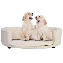Nowoczesne posłanie legowisko dla psa - tkanina do wyboru