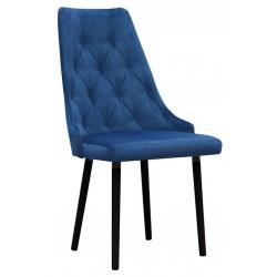 Krzesło tapicerowane pikowane do sypialni
