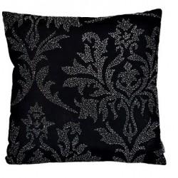 Luksusowa wyszywana poduszka Glamour -Liście
