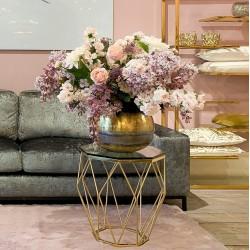 Art Deco stolik boczny do sofy salon