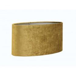 Luksusowy złoty abażur owalny 38cm