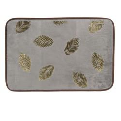 Oryginalny dywanik łazienkowy szary antypoślizgowy
