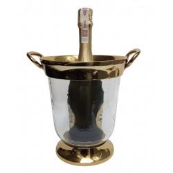 Luksusowy pojemnik na lód złoty cooler