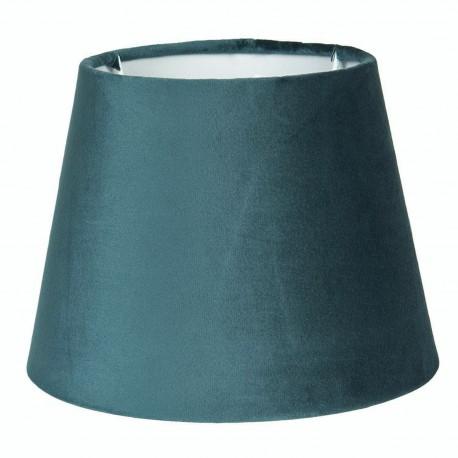 Turkusowy abażur lampa stołowa welurowy Ø 25