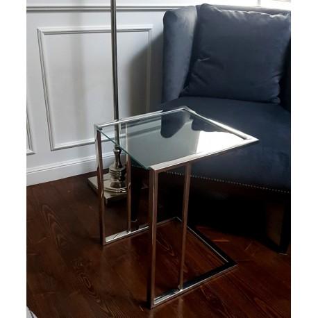 Luksusowy stolik boczny 38x38x50 do kanapy łóżka Modern Classic