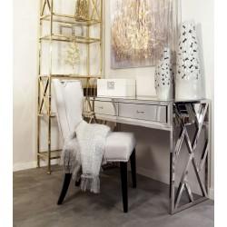 Toaletka lustrzana glamour