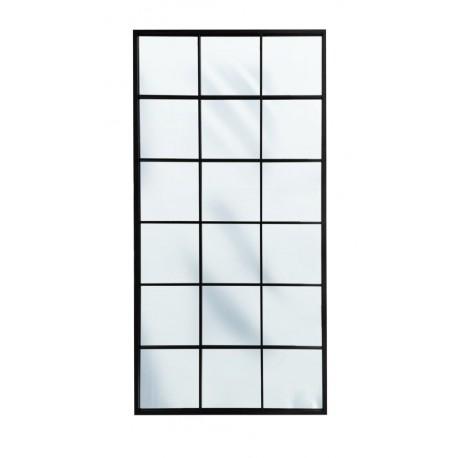 Wysokie lustro w stylu loftowym