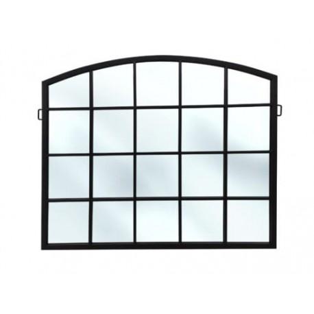 Industrialne lustro w kształcie okna