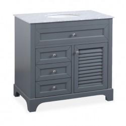 Luksusowa szafka łazienkowa stojąca z umywalką