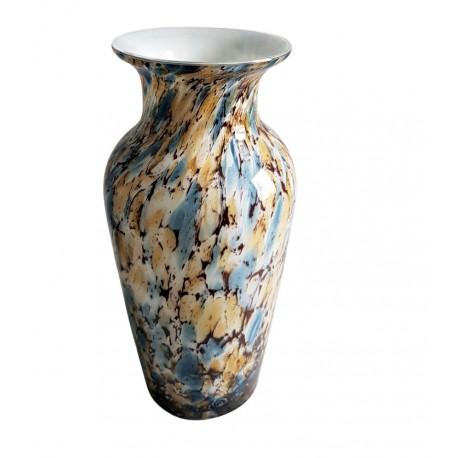 Luksusowy wazon szklany cieniowany w stylu Boho h30