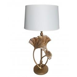 Boho lampa stołowa złota podstawa H50cm