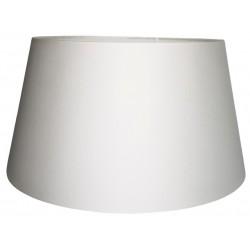 Duży biały abażur do lampy stojącej