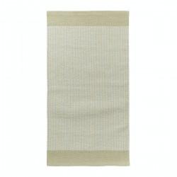 Beżowy bawełniany dywanik do kuchni przedpokoju lub sypialni