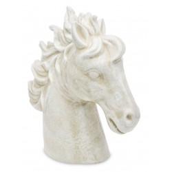 Ceramiczna głowa konia figurka- figurka do salonu