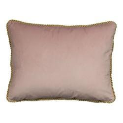 Welurowa poduszka dekoracyjna różowa