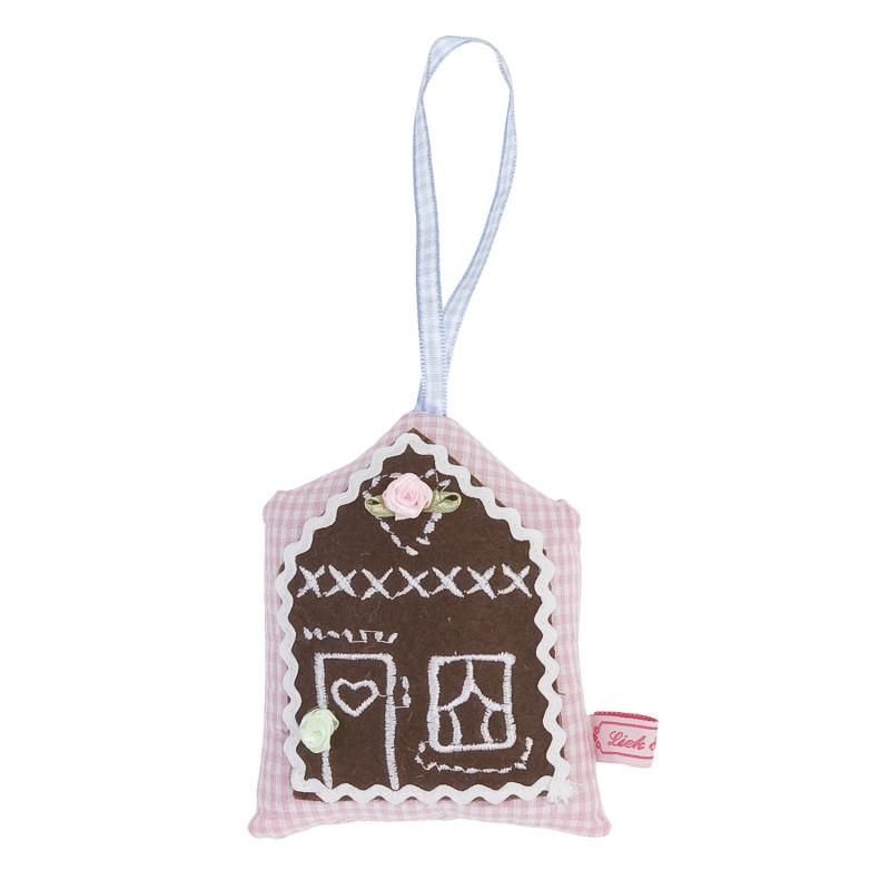 Bawełniany pierniczek domek  11x8