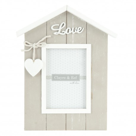 Drewniana ramka Love Home