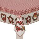Serweta świąteczna z serii Christmas Hearts