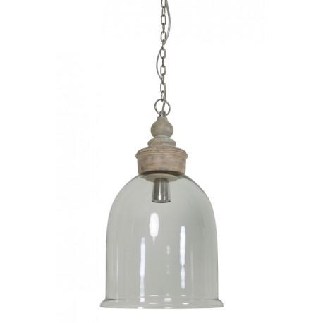 Szklana lampa South Beach
