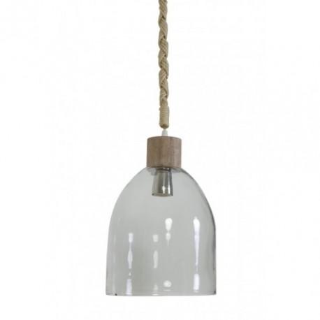 Szklana lampa wisząca Zarra Glass