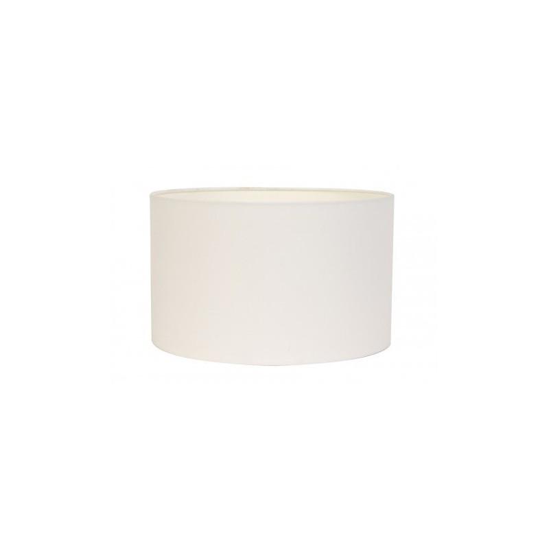 Biały abażur  cylinder 30 lampa stojąca i  podłogowa