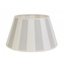 Abażur do lampy stołowej w jasno szare pasy 25 S(20)