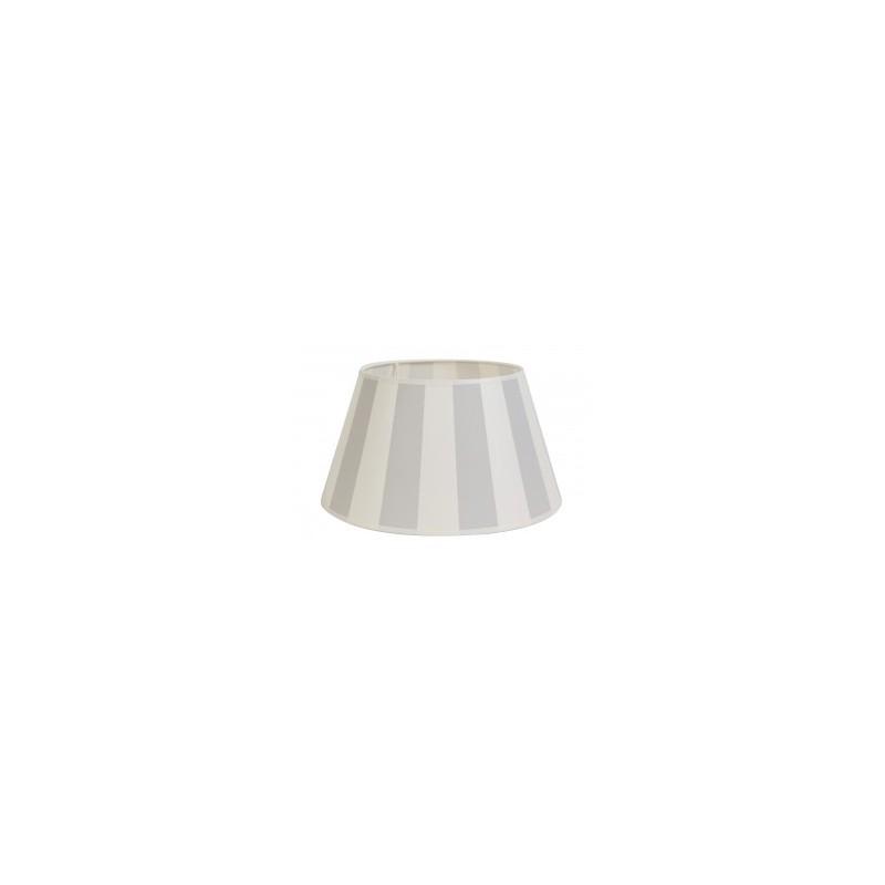 Abażur do lampy stołowej w jasno szare pasy 25