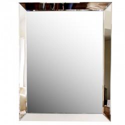 Lustro ze szklaną ramą 60x80