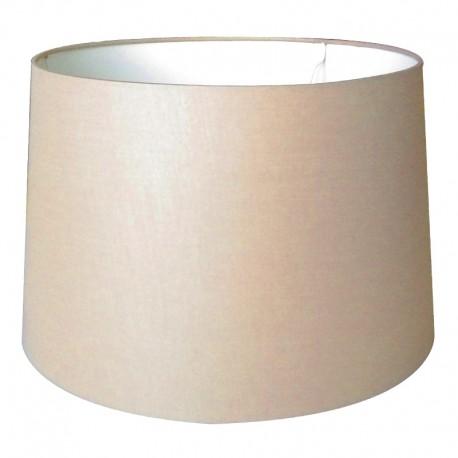 Duży beżowy abażur na lampę stojącą lub podłogową ( 35) szampan