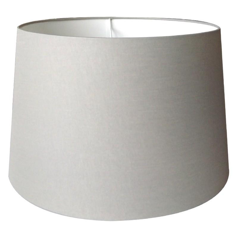 B.duży szary abażur do lampy podłogowej 45