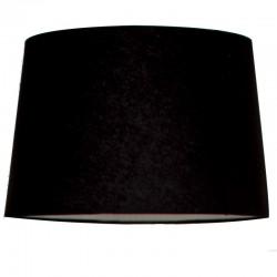 Czarny bawełniany abażur Ø 45 lampa podłogowa