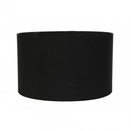 Abażur czarny lampa podłogowa Ø 45 środek czarny