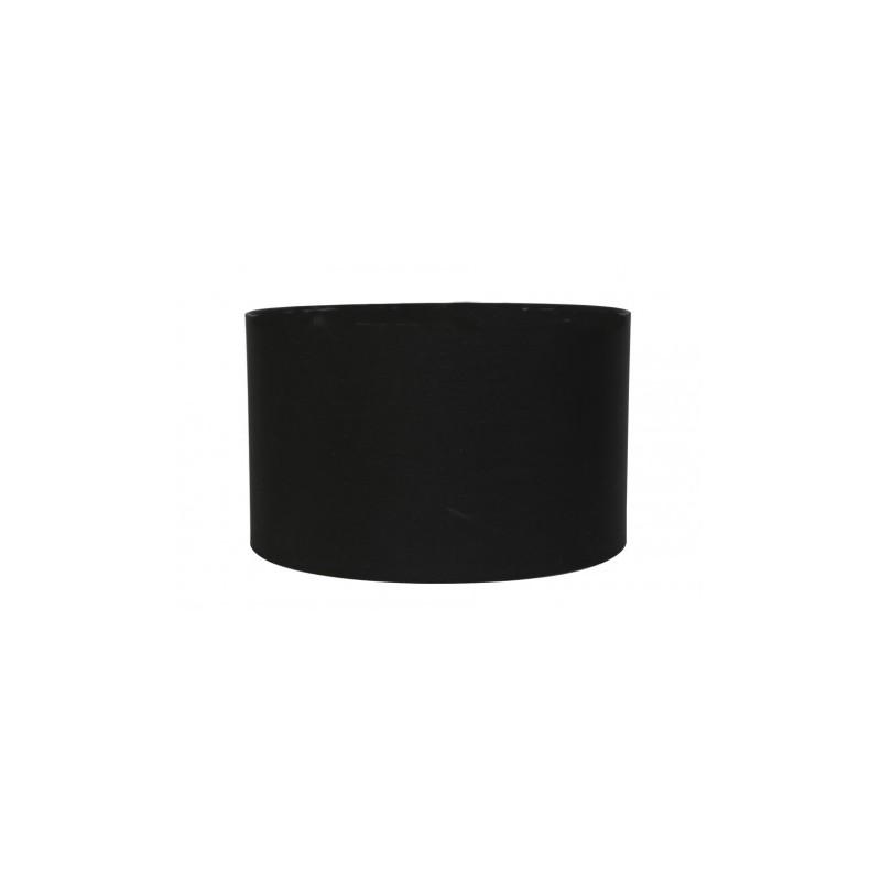 Cylinder czarny Ø 45 lampa podłogowa środek czarny