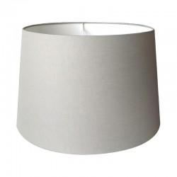 Duży szary abażur na lampę stołowa lub podłogową ( 35)