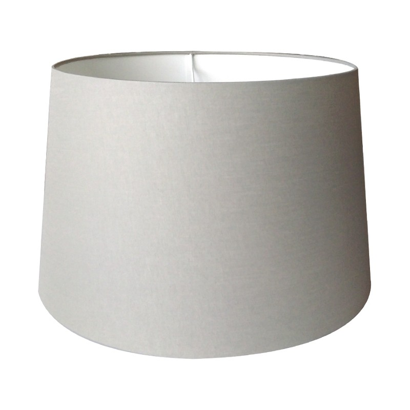 Szary abażur 35 na lampę stołowa lub podłogową